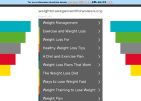 weightmanagementforwomen.org
