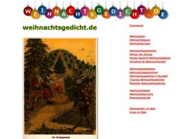 weihnachtsgedicht.de