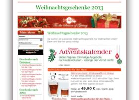 weihnachtsgeschenke2012.de