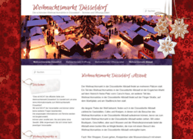 weihnachtsmarkt-duesseldorf.com