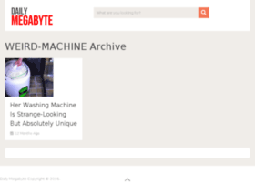 weird-machine.dailymegabyte.com