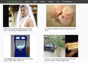weirdofacts.me