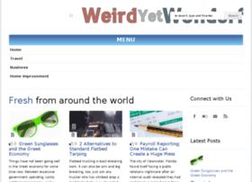 weirdyetwonderful.com