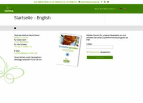 weiss-institut.de