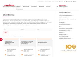 weiterbildung.cimdata.de