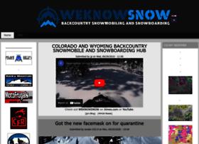 weknowsnow.com