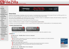 welcome.filezilla-project.org