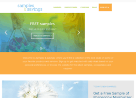 welcome.samplesandsavings.com