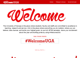 welcome.uga.edu