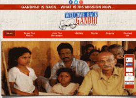 welcomebackgandhi.in