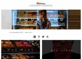 welcomechickenanddonuts.com