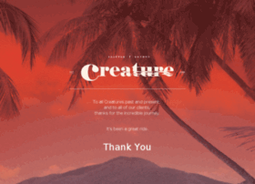 welcometocreature.com