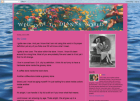 welcometodianasworld.blogspot.com