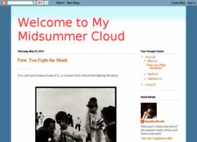welcometomymidsummercloud.blogspot.com
