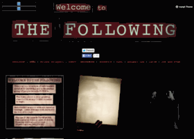 welcometothefollowing.tumblr.com