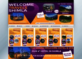 welcometravelsshimla.com