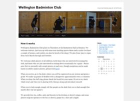 wellingtonbadmintonclub.org.nz