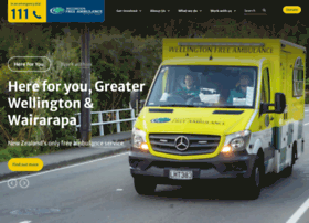 wellingtonfreeambulance.org.nz