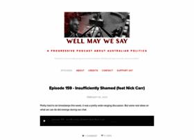 wellmaywesay.com
