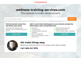 wellness-training-services.com