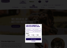 wellnesspetfood.com