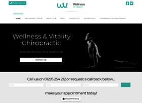wellnessvitalitychiro.co.uk