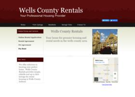 wellscountyrentals.com