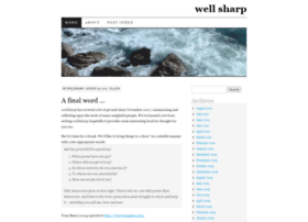 wellsharp.wordpress.com