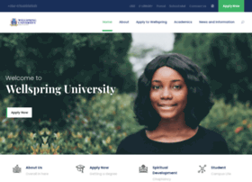 wellspringuniversity.edu.ng