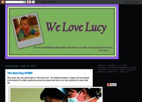 welovelucyadoption.blogspot.com