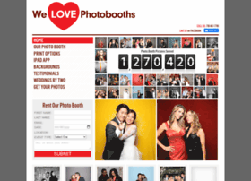 welovephotobooths.com