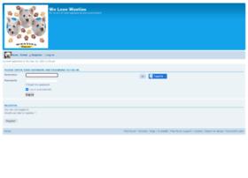 welovewesties.forumotion.co.uk