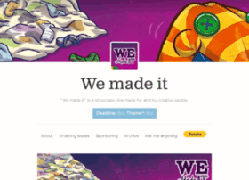 wemadeitzine.com