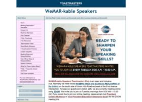 wemarkablespeakers.toastmastersclubs.org
