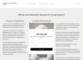 wendellresearchgroup.com