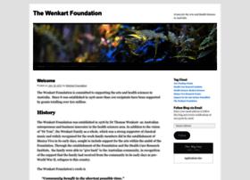 wenkartfoundation.wordpress.com