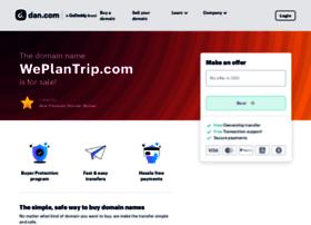 weplantrip.com