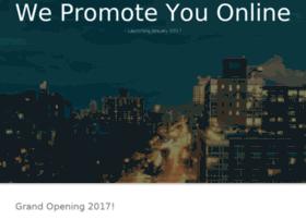 wepromoteyouonline.com
