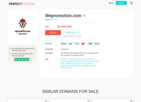 wepromotion.com