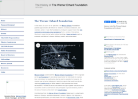 wernererhardfoundation.org