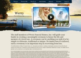 werryfuneralhomes.com