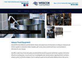 wescorfoodequipment.com