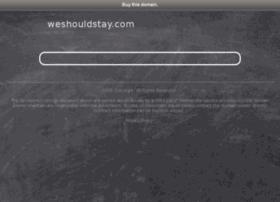 weshouldstay.com