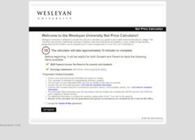 wesleyan.studentaidcalculator.com