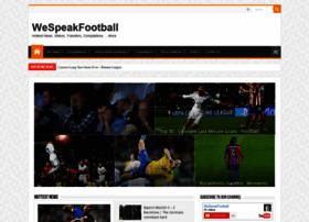 Wespeakfootball.tv