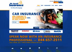 wespeakinsurance.com