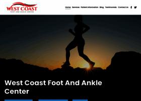 westcoastfootandankle.com