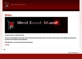 westcoasttitans.fi