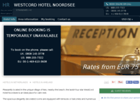westcord-hotel-noordsee.h-rez.com
