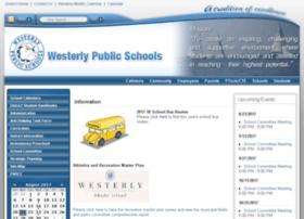 westerlyps.schoolfusion.us